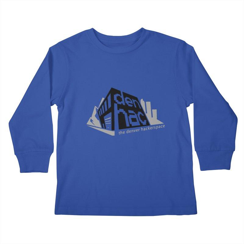 Old School Logo Kids Longsleeve T-Shirt by denhac swag