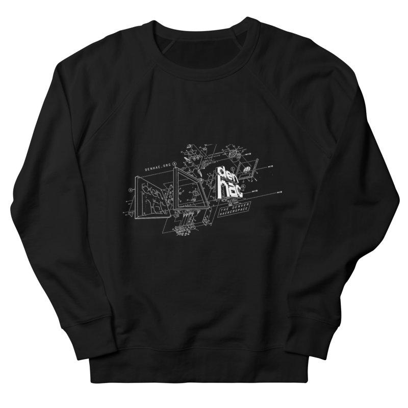 Exploded Logo - Black Men's Sweatshirt by denhac swag