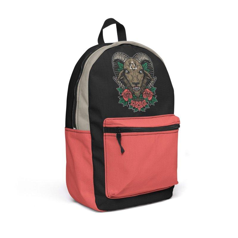 Dark Goat Accessories Backpack Bag by Deniart's Artist Shop