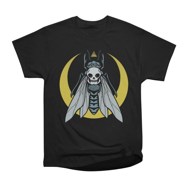 Dark Fly Men's Heavyweight T-Shirt by Deniart's Artist Shop