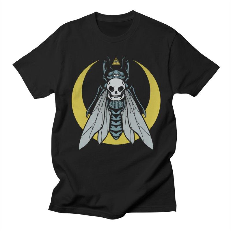 Dark Fly Women's Regular Unisex T-Shirt by Deniart's Artist Shop