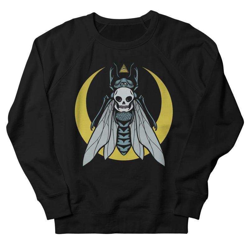 Dark Fly Women's French Terry Sweatshirt by Deniart's Artist Shop
