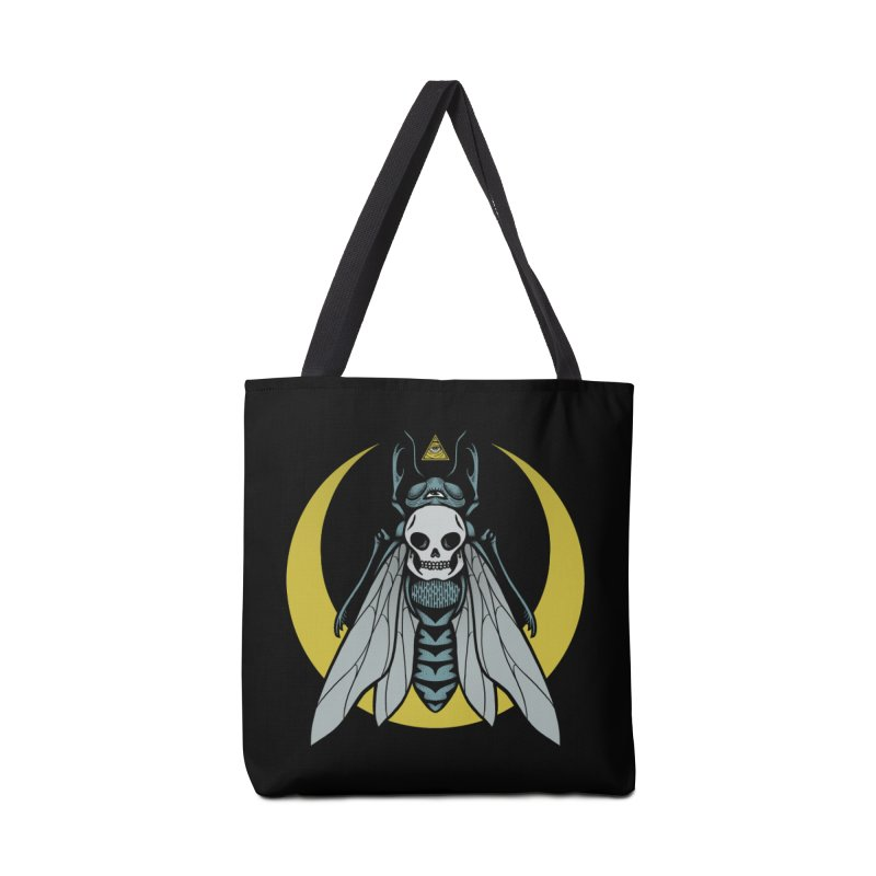 Dark Fly Accessories Tote Bag Bag by Deniart's Artist Shop