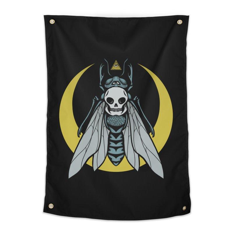 Dark Fly Home Tapestry by Deniart's Artist Shop