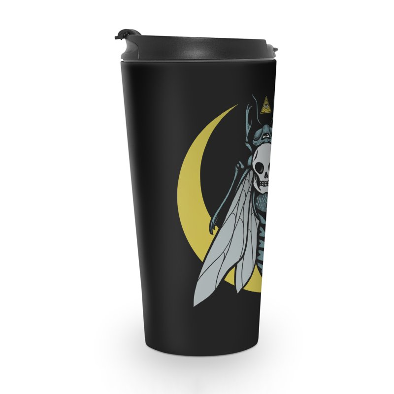 Dark Fly Accessories Travel Mug by Deniart's Artist Shop