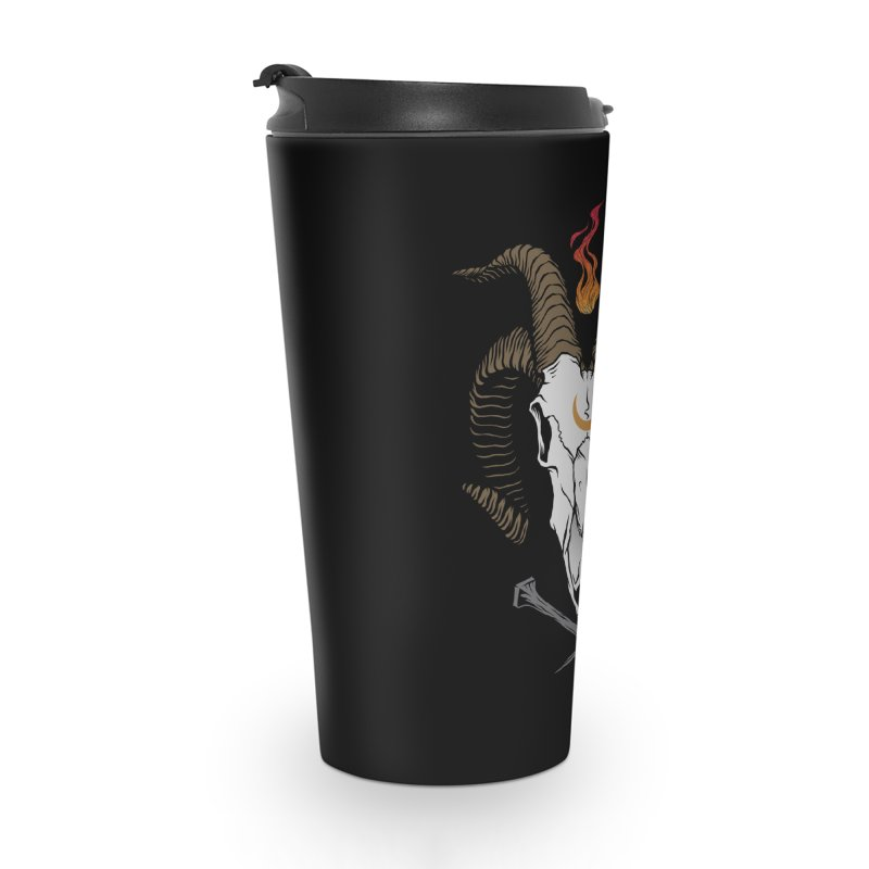 Occult Goat Accessories Travel Mug by Deniart's Artist Shop