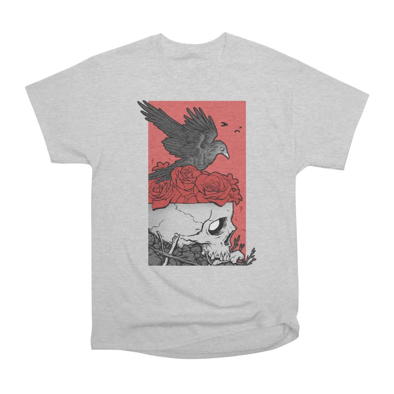 Memento Mori Men's Heavyweight T-Shirt by Deniart's Artist Shop