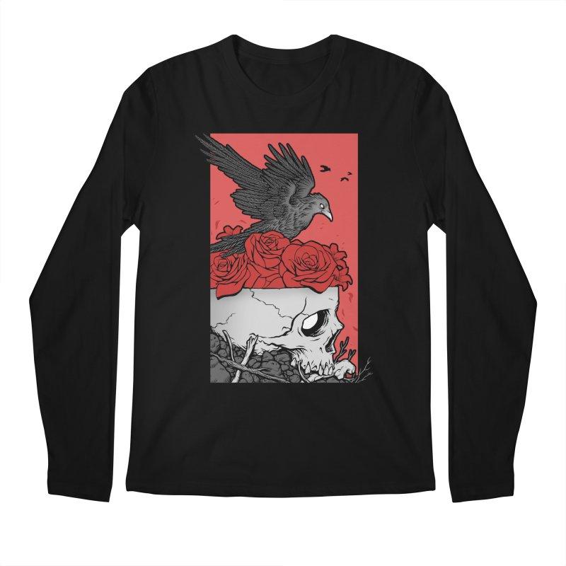 Memento Mori Men's Regular Longsleeve T-Shirt by Deniart's Artist Shop