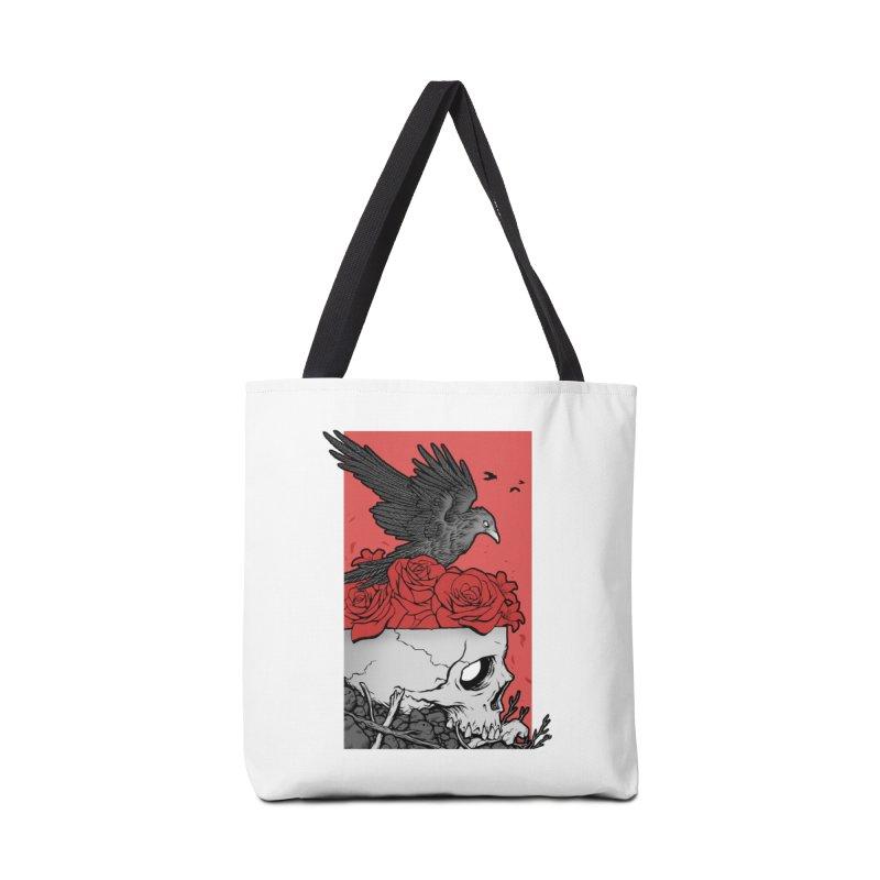 Memento Mori Accessories Tote Bag Bag by Deniart's Artist Shop