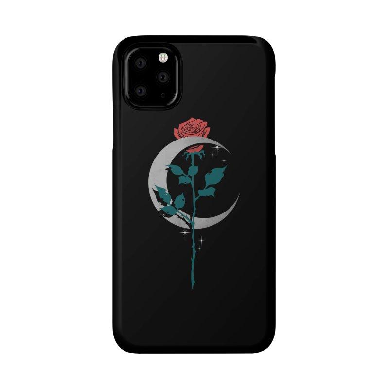 Moon Rose Accessories Phone Case by Deniart's Artist Shop
