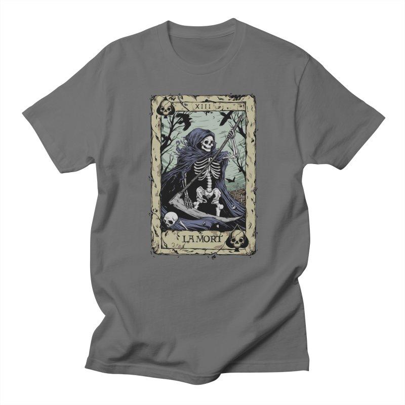 Death Card Men's T-Shirt by Deniart's Artist Shop