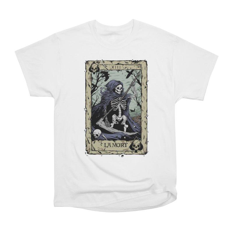 Death Card Men's Heavyweight T-Shirt by Deniart's Artist Shop