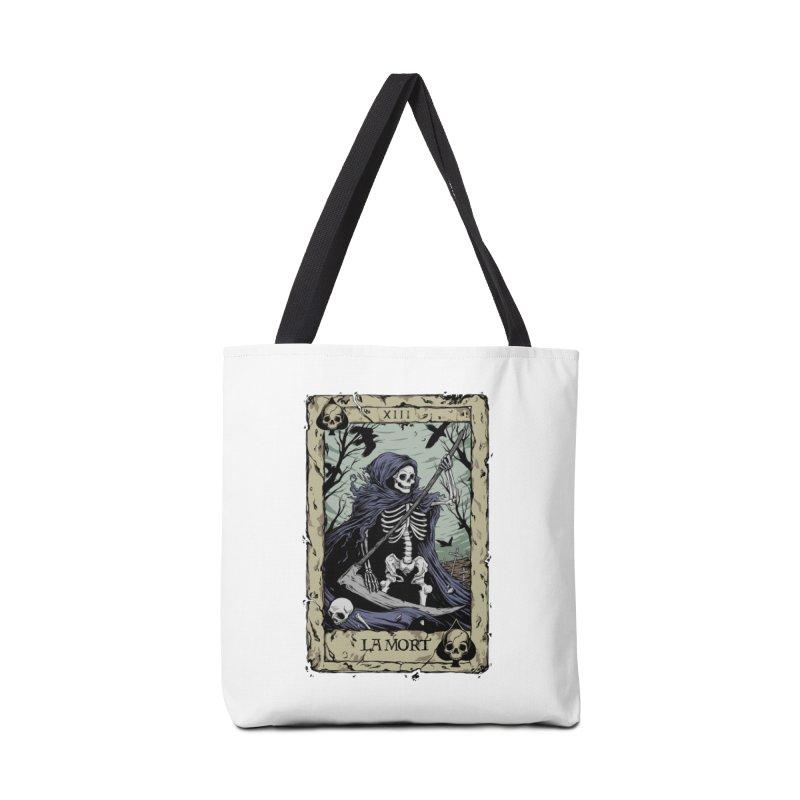 Death Card Accessories Tote Bag Bag by Deniart's Artist Shop