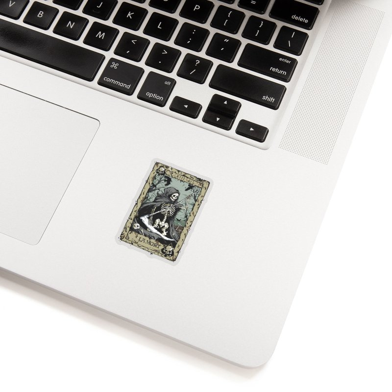 Death Card Accessories Sticker by Deniart's Artist Shop
