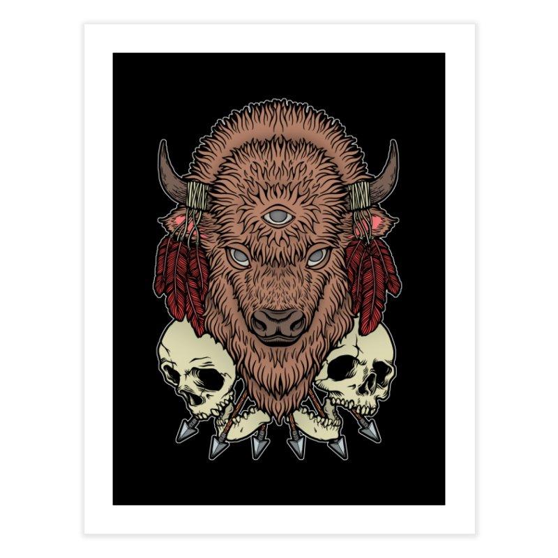 Wild Bison Home Fine Art Print by Deniart's Artist Shop