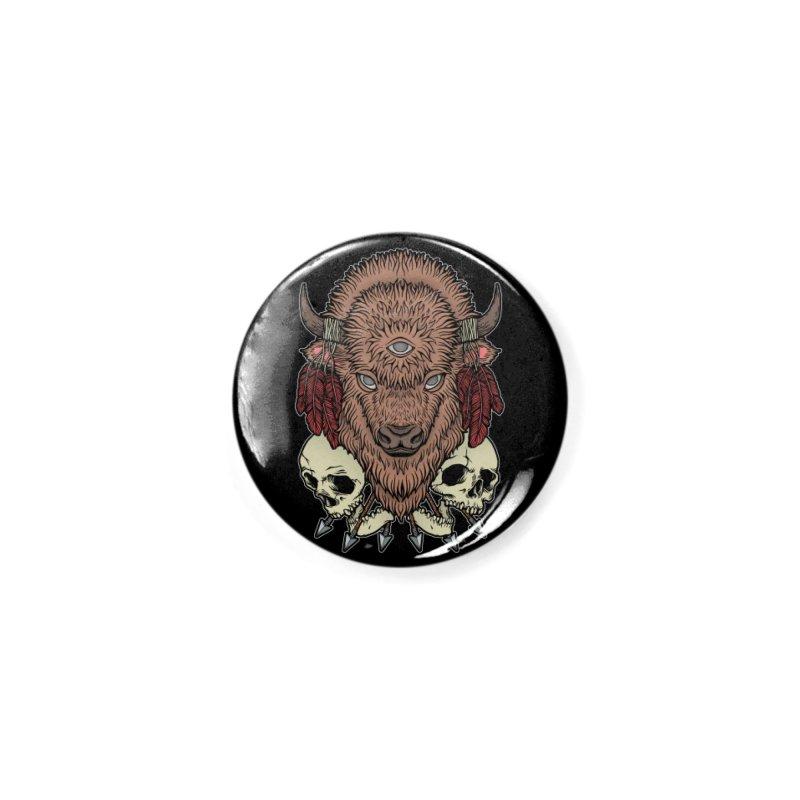 Wild Bison Accessories Button by Deniart's Artist Shop