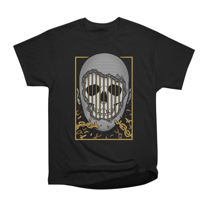 Prisoner of Myself Men's Heavyweight T-Shirt by Deniart's Artist Shop