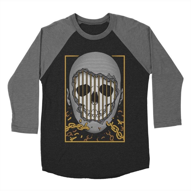Prisoner of Myself Men's Baseball Triblend Longsleeve T-Shirt by Deniart's Artist Shop