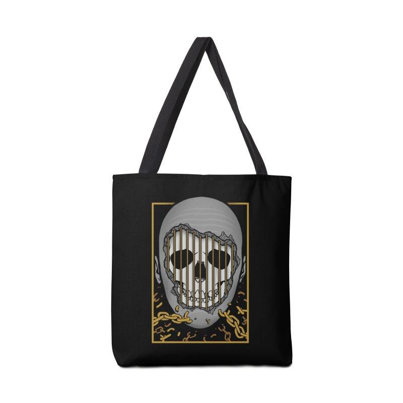 Prisoner of Myself Accessories Tote Bag Bag by Deniart's Artist Shop