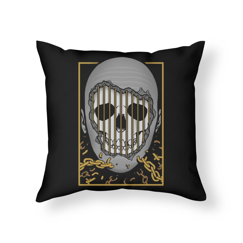 Prisoner of Myself Home Throw Pillow by Deniart's Artist Shop