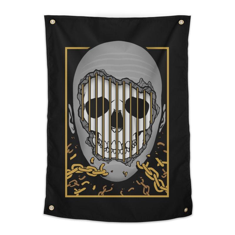 Prisoner of Myself Home Tapestry by Deniart's Artist Shop