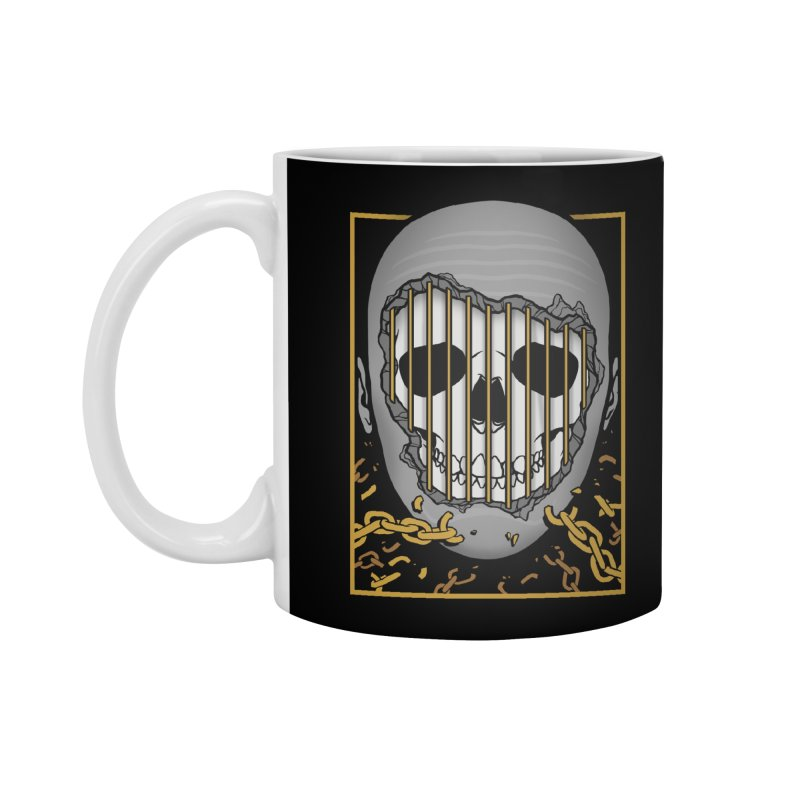 Prisoner of Myself Accessories Standard Mug by Deniart's Artist Shop