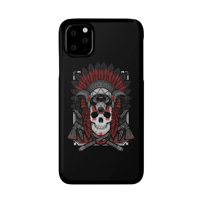 Native Skull Accessories Phone Case by Deniart's Artist Shop