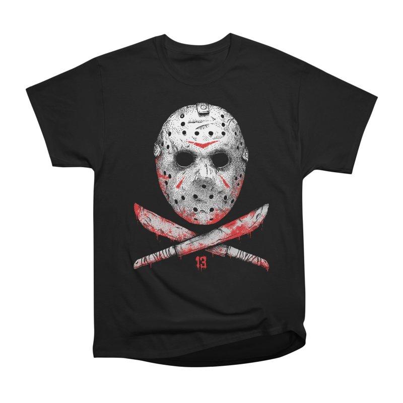 Friday 13 Men's Heavyweight T-Shirt by Deniart's Artist Shop