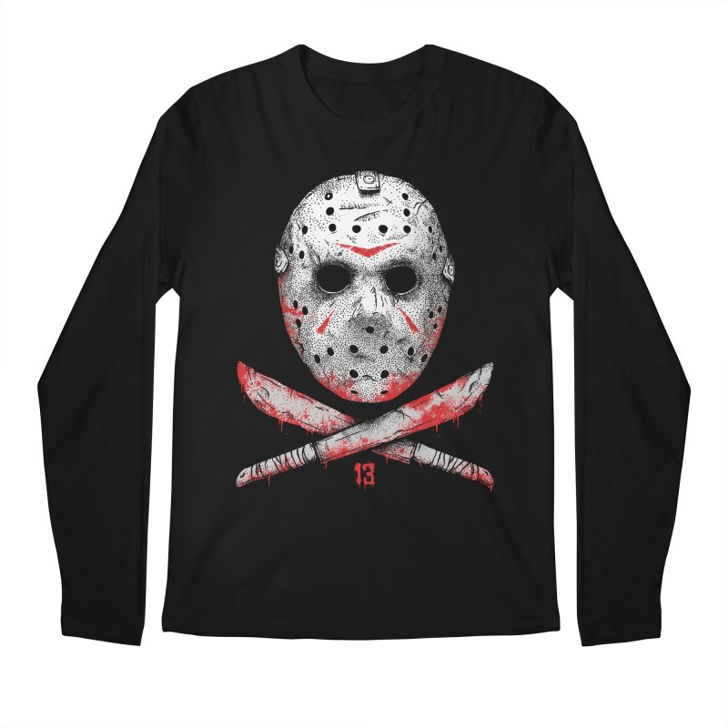 Friday 13 Men's Regular Longsleeve T-Shirt by Deniart's Artist Shop