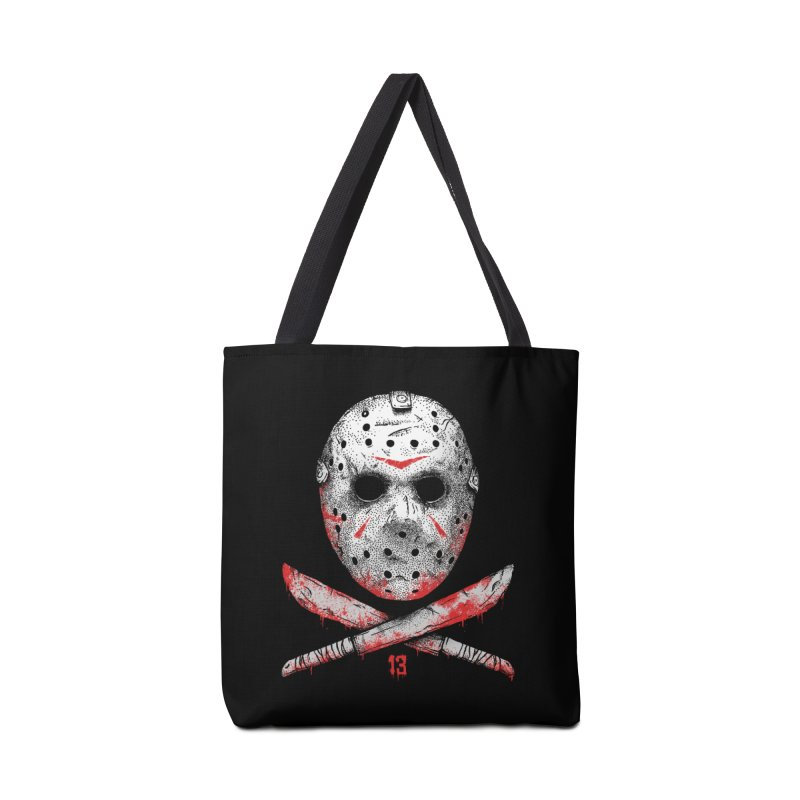 Friday 13 Accessories Tote Bag Bag by Deniart's Artist Shop