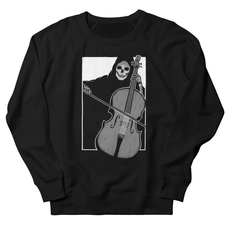 Symphony of Death Men's French Terry Sweatshirt by Deniart's Artist Shop