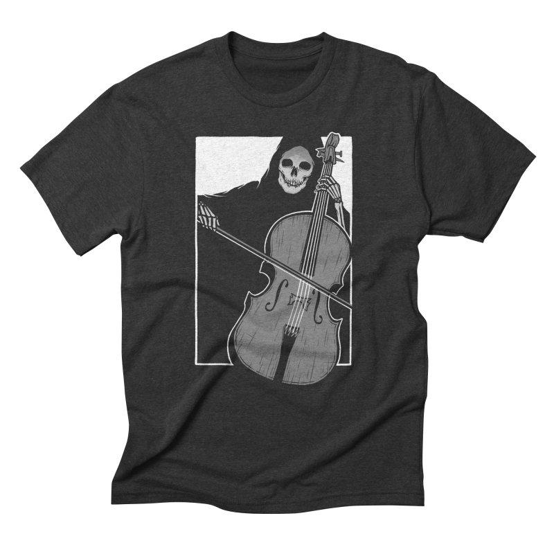 Symphony of Death Men's Triblend T-Shirt by Deniart's Artist Shop