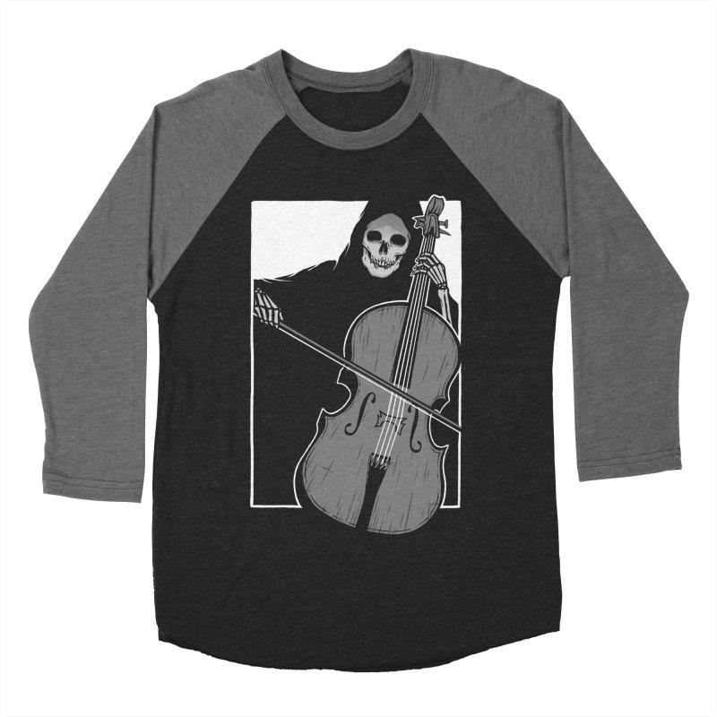 Symphony of Death Men's Baseball Triblend Longsleeve T-Shirt by Deniart's Artist Shop