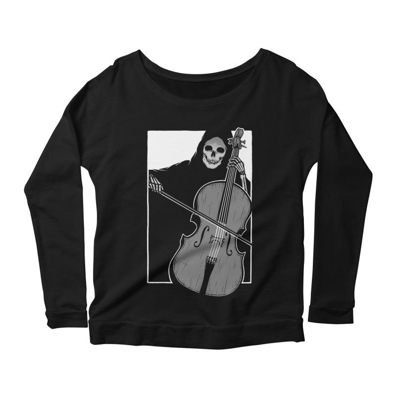 Symphony of Death Women's Scoop Neck Longsleeve T-Shirt by Deniart's Artist Shop