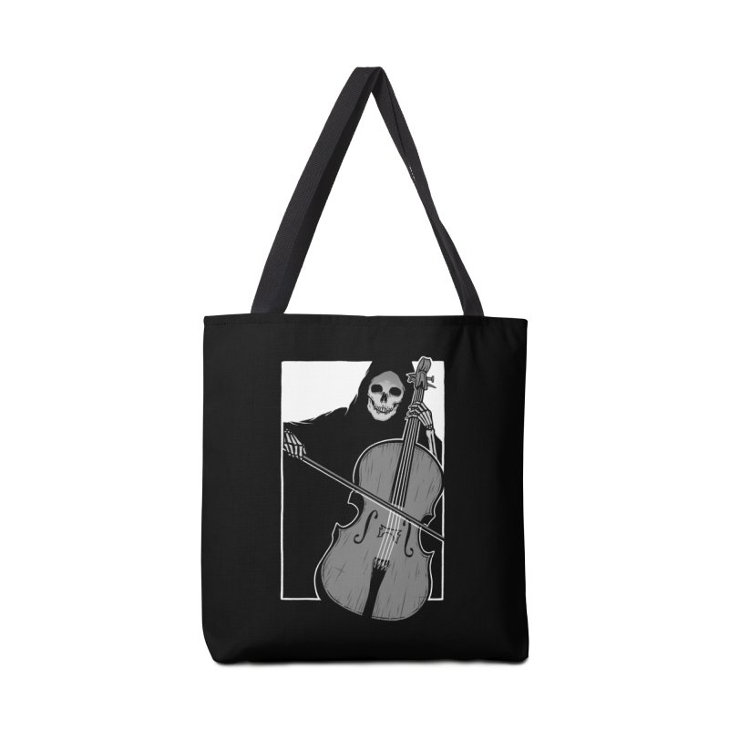 Symphony of Death Accessories Tote Bag Bag by Deniart's Artist Shop