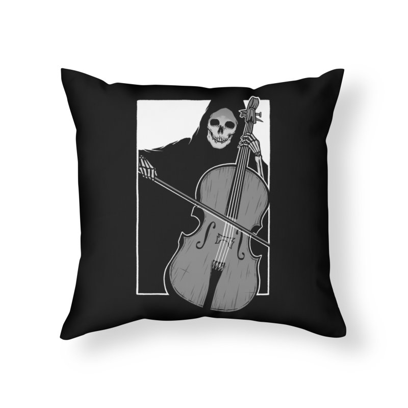 Symphony of Death Home Throw Pillow by Deniart's Artist Shop