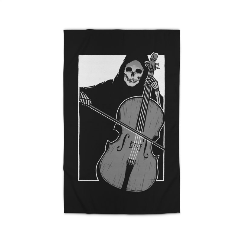Symphony of Death Home Rug by Deniart's Artist Shop