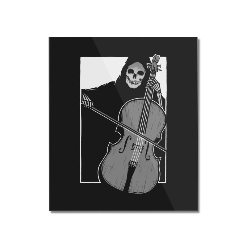 Symphony of Death Home Mounted Acrylic Print by Deniart's Artist Shop