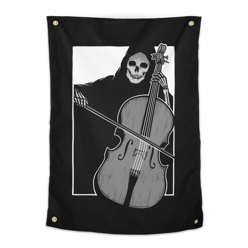 Symphony of Death Home Tapestry by Deniart's Artist Shop