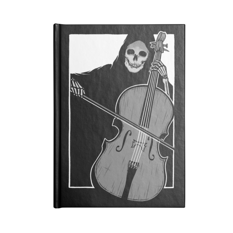 Symphony of Death Accessories Lined Journal Notebook by Deniart's Artist Shop