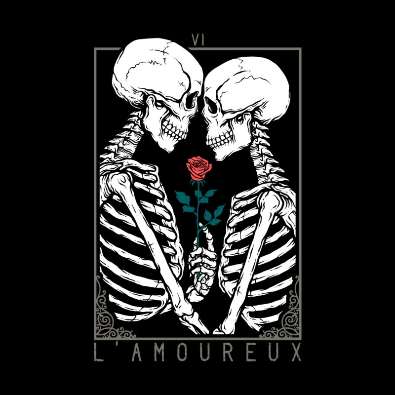 VI The Lovers Men's T-Shirt by Deniart's Artist Shop