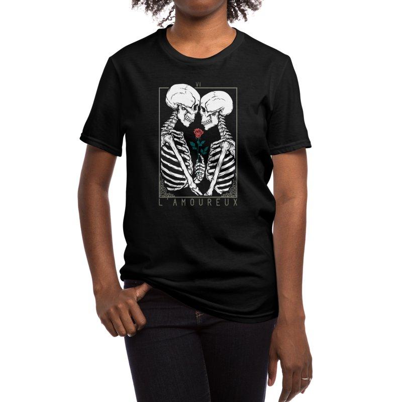 VI The Lovers Women's T-Shirt by Deniart's Artist Shop
