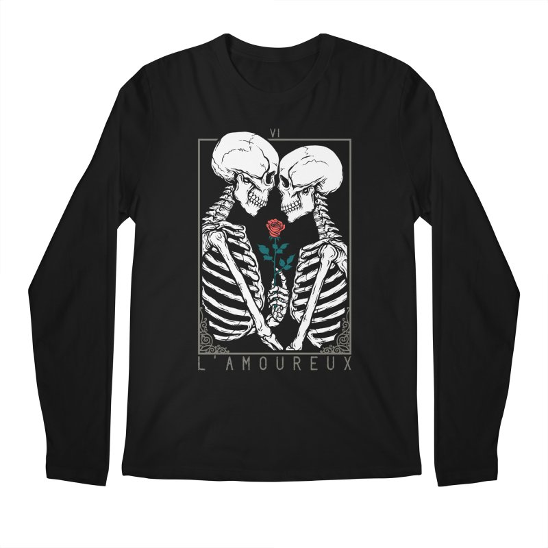 VI The Lovers Men's Regular Longsleeve T-Shirt by Deniart's Artist Shop