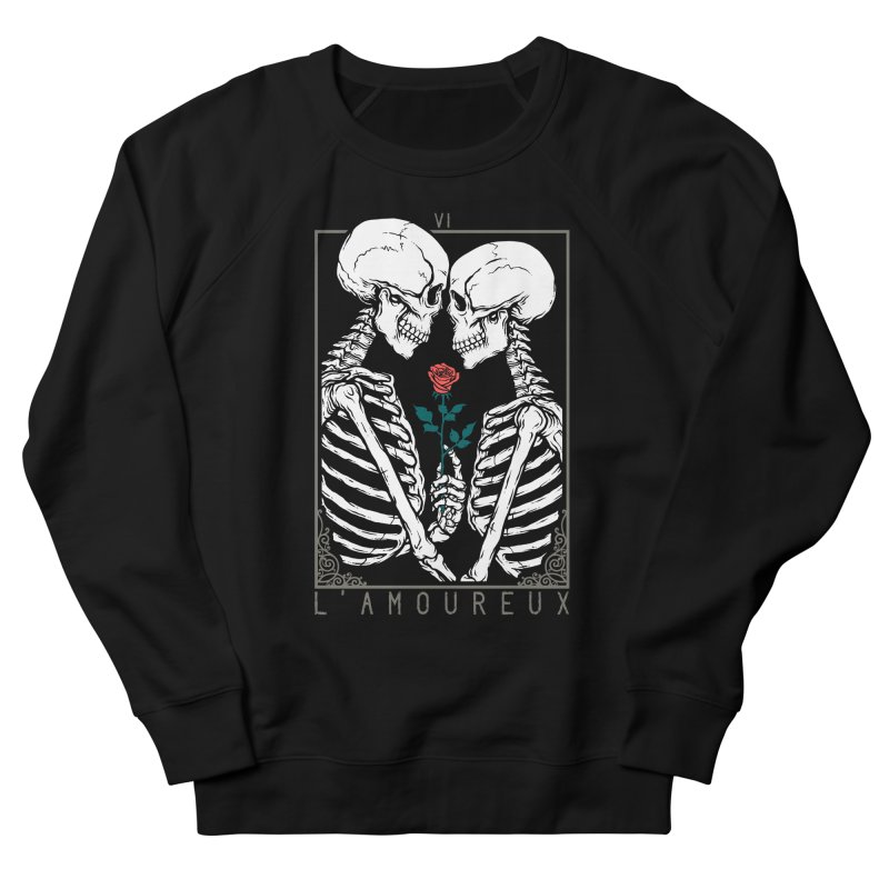 VI The Lovers Men's French Terry Sweatshirt by Deniart's Artist Shop