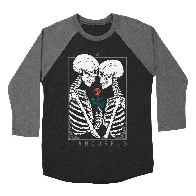 VI The Lovers Women's Baseball Triblend Longsleeve T-Shirt by Deniart's Artist Shop