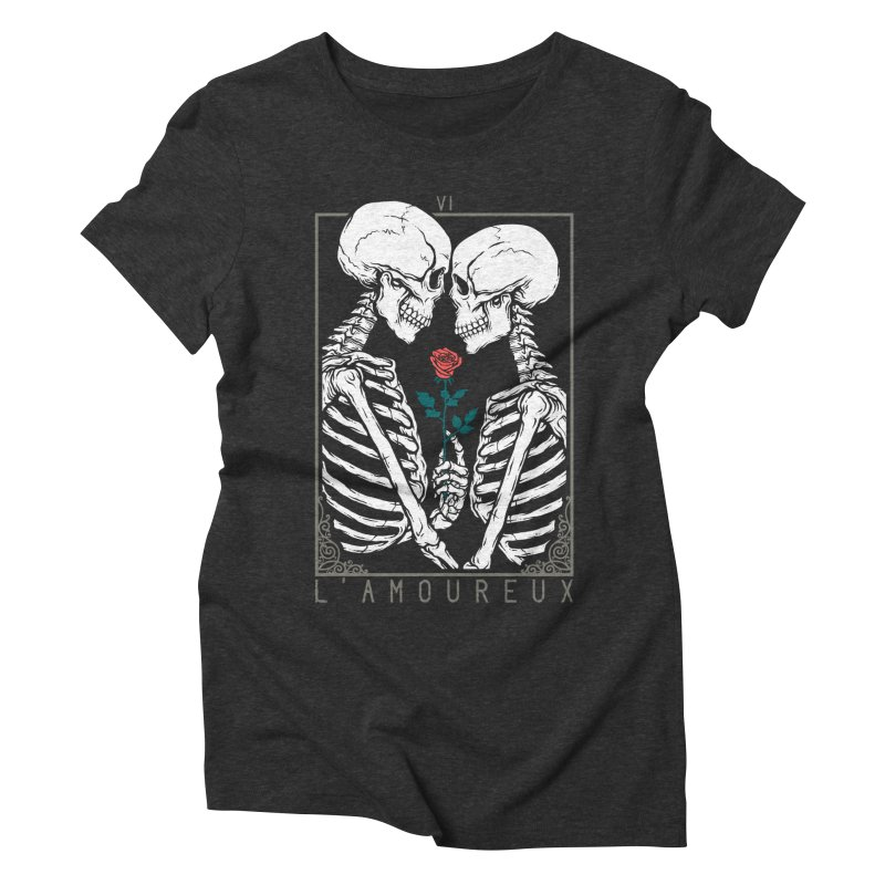 VI The Lovers Women's Triblend T-Shirt by Deniart's Artist Shop