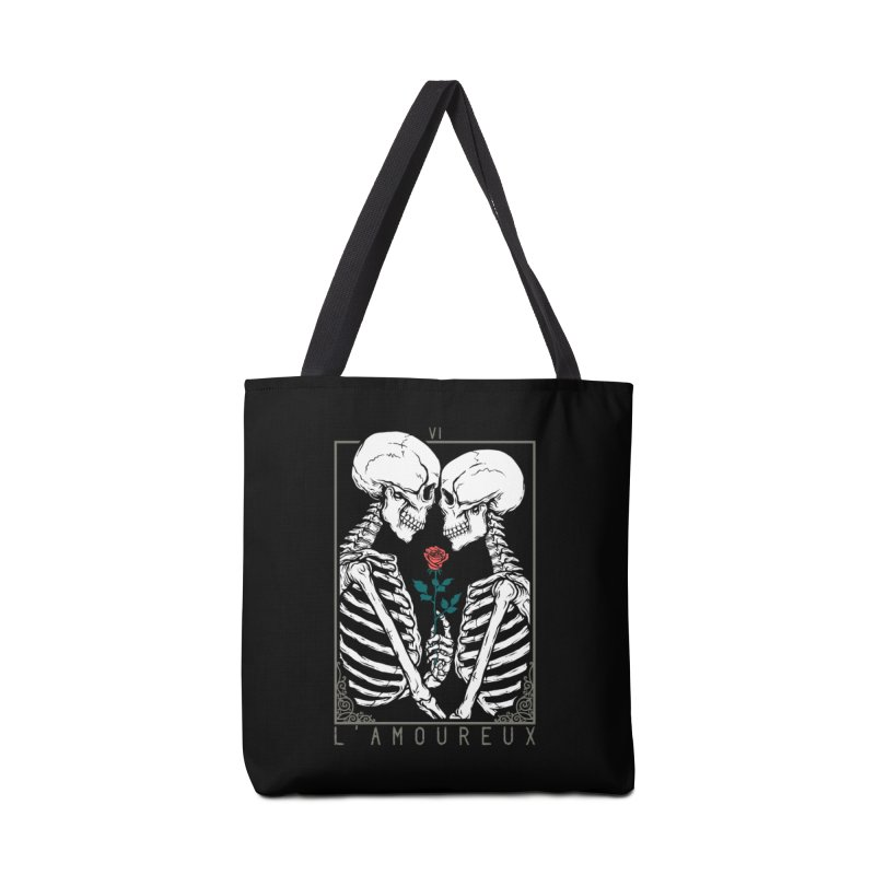 VI The Lovers Accessories Tote Bag Bag by Deniart's Artist Shop