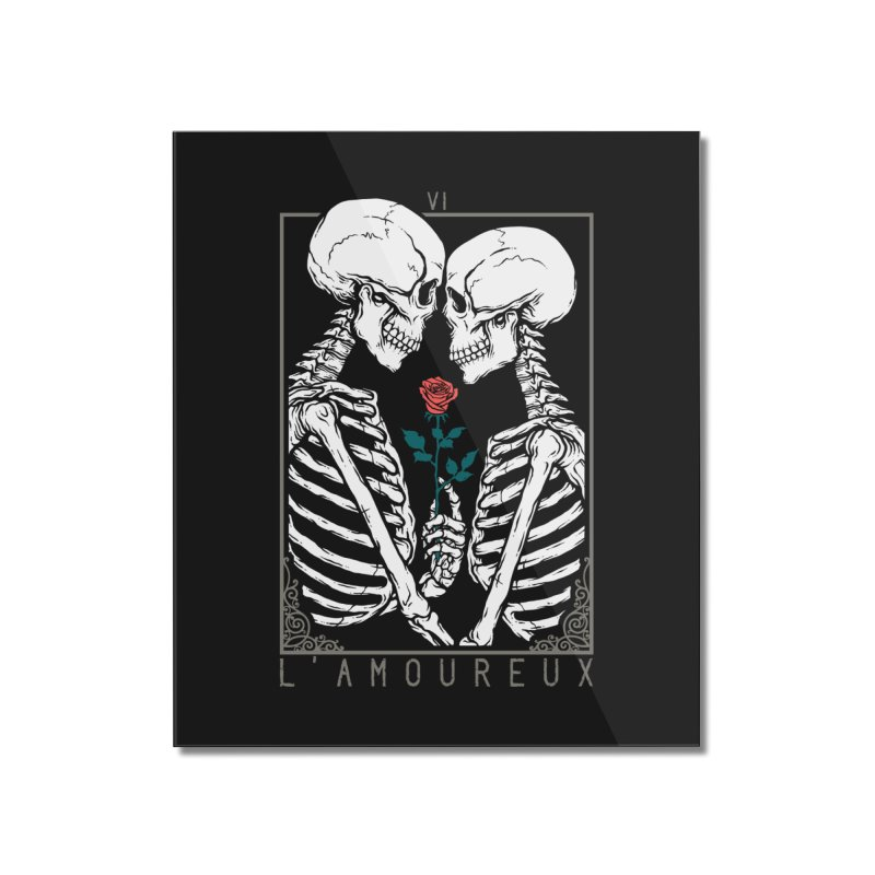VI The Lovers Home Mounted Acrylic Print by Deniart's Artist Shop