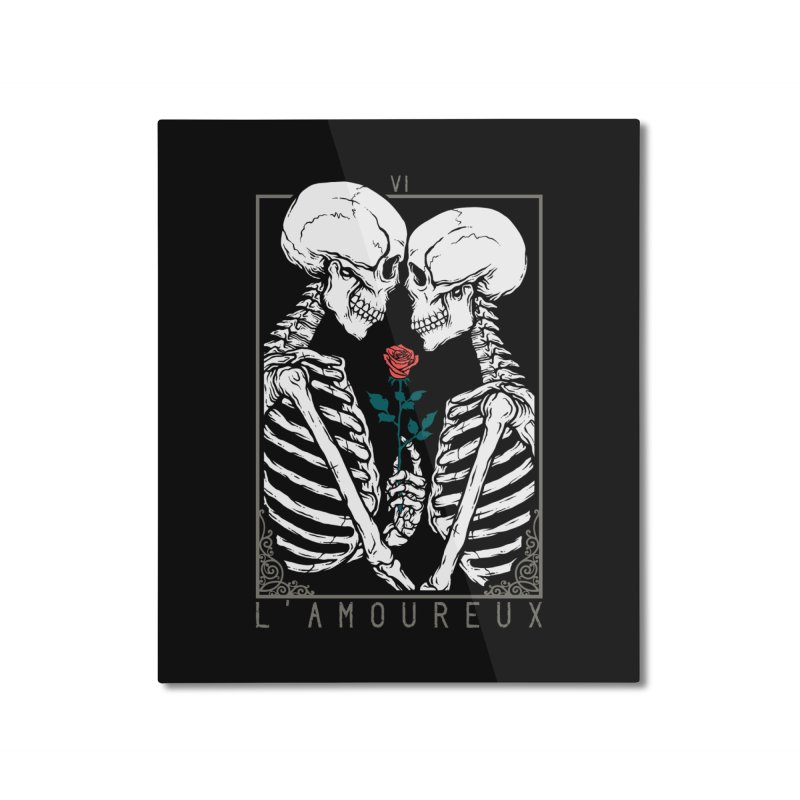 VI The Lovers Home Mounted Aluminum Print by Deniart's Artist Shop