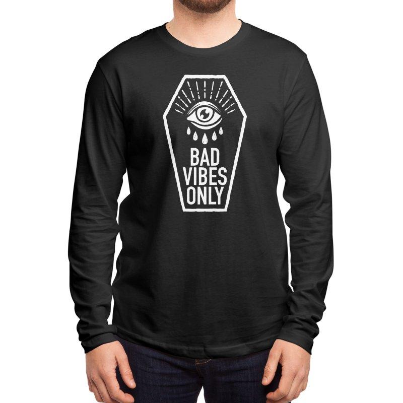 Bad Vibes Only Men's Longsleeve T-Shirt by Deniart's Artist Shop